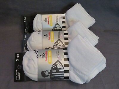 New 9 Pairs Youth Foot Locker Micro Mesh Ankle Support Quarter Socks Infant 2-10