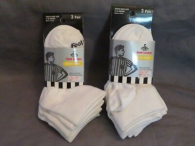 New 6 Pairs Youth Foot Locker Micro Mesh Ankle Support Quarter Socks Infant 2-10