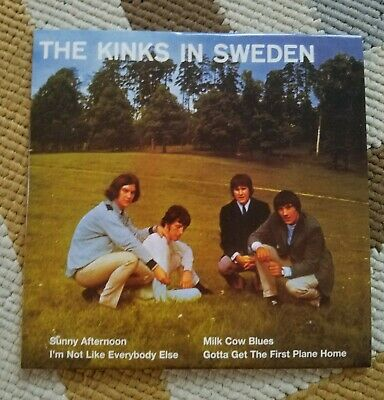 THE KINKS The EP Collection Vol. 1 Box Set 10-CD w/ POSTER *Limited Edition*
