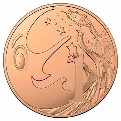 2019 Mr Squiggle Special edition Uncirculated 1c CENT coin