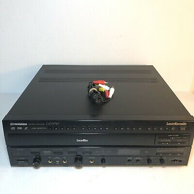 Pioneer CLD-V710 LaserDisc CD CDV LD Player Laser Disc Karaoke GREAT CONDITION.