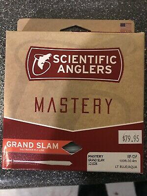 SCIENTIFIC ANGLERS MASTERY GRAND SLAM WF-6-F  6 WT SALTWATER FLOATING FLY LINE