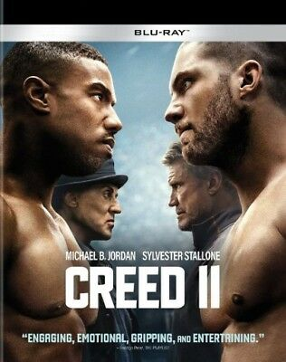 CREED II 2 (2018) BLU-RAY, SLIPCOVER in a CASE (NO DIGITAL) MICHAEL B. JORDAN