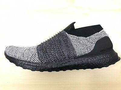 e05dcfdeb7ec NEW ADIDAS ULTRA BOOST LACELESS ULTRABOOST BB6137 Size 8.5 NEW BLACK ...