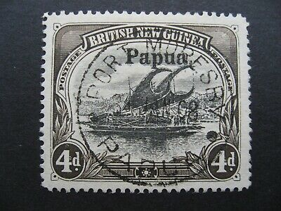 Papua Lakatoi, SG17 Used CV $310.00, as per photos Nice stamp