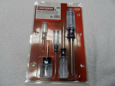 Craftsman Phillips Screwdriver Set, NOS, made in USA, 5 pcs - Part # 47139