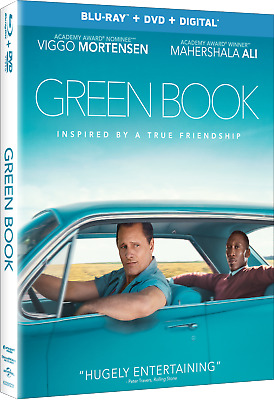 GREEN BOOK Oscar Winning Best Picture Blu-ray and DVD & Digital Viggo Mortensen