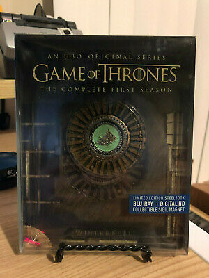 Game of Thrones: The Complete First Season Gift Box (Blu-ray) STEELBOOK