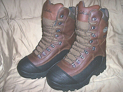 3337533168c MENS 11 BOOTS 1200 Gram Insulated Hunting Boots Extreme Cold Weather ...