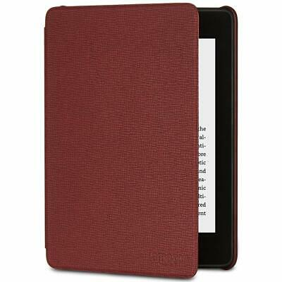 Amazon Kindle Paperwhite Leather Cover 10th Generation 2018 Release Merlot NEW
