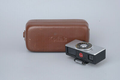 Kodak Rangefinder 45mm Viewfinder, Shoe Mount w/ Leather Case Made In Germany