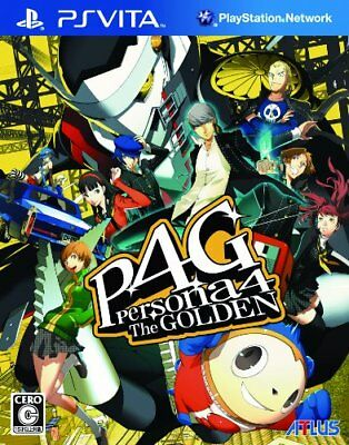 PlayStation PS Vita Persona 4 P4: The Golden From Japan Japanese Game Anime