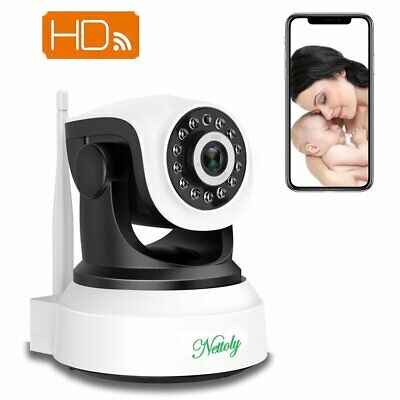 Nettoly HD CCTV Camera Wireless IP Camera Home Security Camera Night Vision WIFI