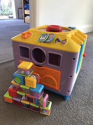 Fisher Price Incrediblock Baby Toddler Interactive Musical Toy
