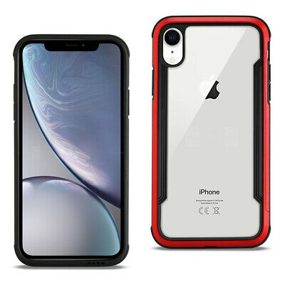 Reiko APPLE IPHONE XR Defense Shield Case In Red