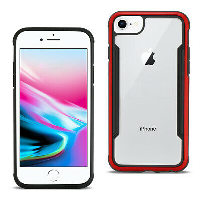 Reiko APPLE IPHONE 8 Defense Shield Case In Red
