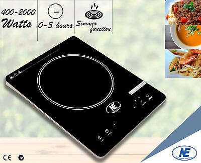 2000W Induction Cooker Electric Portable Cooktop Kitchen Burner