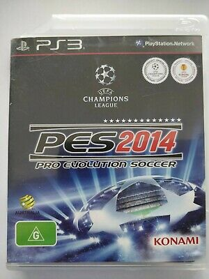 PES 2014 Pro Evolution Soccer - Playstation 3 PS3 - fast free post