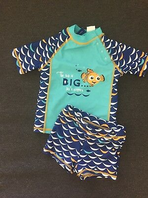 Finding Nemo Baby Rash Vest Swim Set