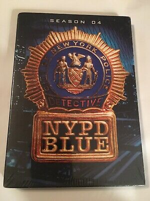 NYPD Blue - Season 4 (DVD, 2009, 4-Disc Set) New Sealed With Free Shipping