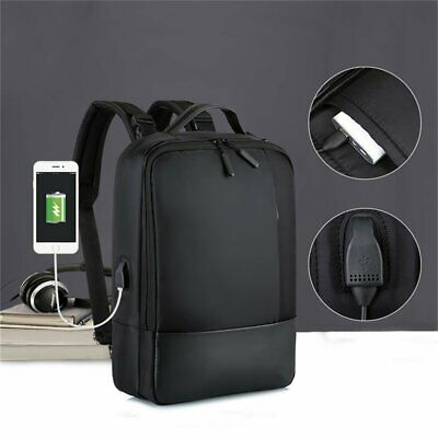 Anti-Theft Laptop Backpack WaterProof USB Port Charge On The Go Smart Bag Bonus