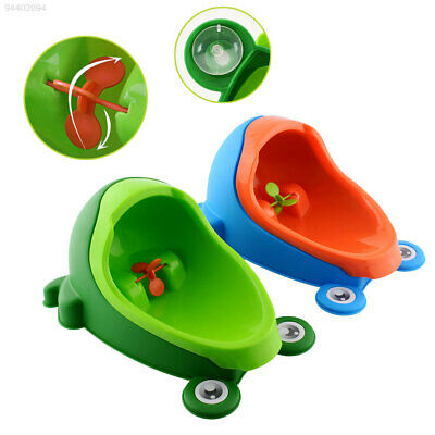 ED5C Frog-shaped Potty Toilet Kids Urinal Standing Pee Trainer bat Cartoon
