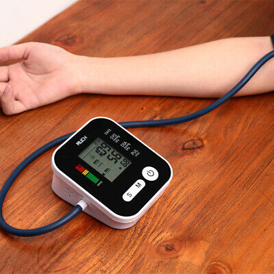 Automatic Digital Upper Arm Blood Pressure Monitor BP Cuff Machine Home Tester