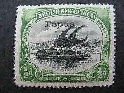 Papua Lakatoi, SG34a MLH Pos 20 W/Leaves at right CV$140.00++, as per photos