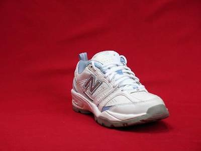 011bbb10220ae Women Silver, Blue & White New Balance 409 Walking Solid Sneakers Size ...