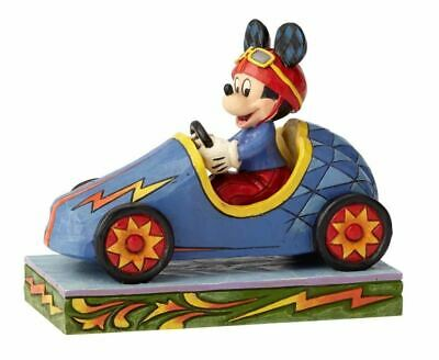 Jim Shore Disney Traditions - soap box derby - Mickey takes the lead 6000974