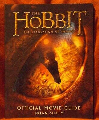 Hobbit The Desolation of Smaug Official Movie Guide First US Ed &Print 2013 MINT