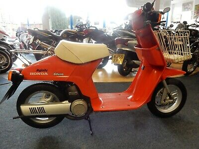 Honda Melody 49cc  moped  / scooter 1984 1 owner stored 20 years.recent MOT