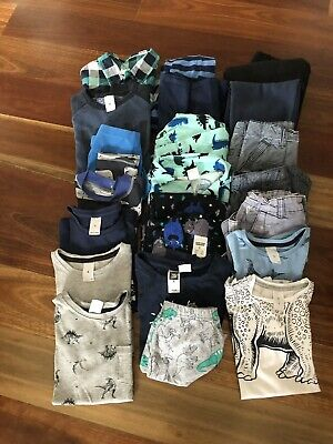 Boy'S Bulk Pack Of Clothes(Twenty Two Pieces-Size Six.