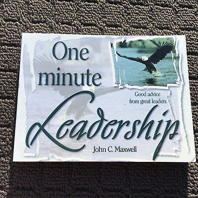 ONE MINUTE LEADERSHIP Good Advice Book of Quotes (1996) Paperback