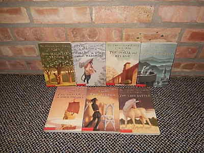 Vtg C.S. Lewis The Chronicles Of Narnia Unicorn Box Set Volumes 1-7 1995 UNREAD