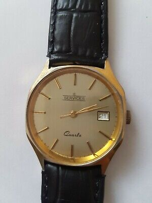 Services Watch Co Leicester by Frank Liquorish wrist watch