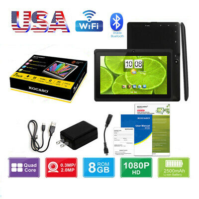 US KOCASO 10 1'' Tablet Android Quad Core WIFI HD Dual