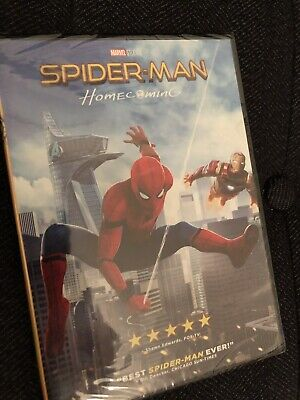 Spider-Man: Homecoming (DVD MARVEL 2017) New & Sealed!