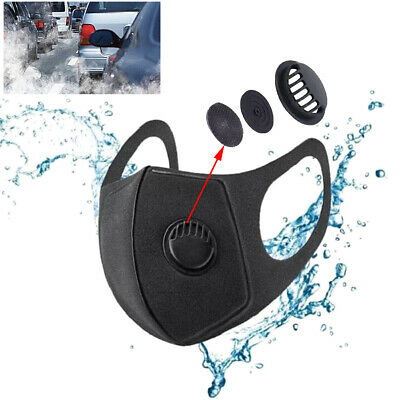 1pcs unisex sponge dust mask anti pollution mask PM2.5 activated carbon filter^S