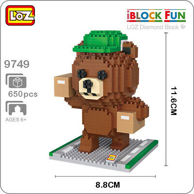 Loz Micro Building Blocks Gift Series Diamond Blocks Tortoise 80 PC Set New