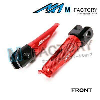 Red Front Racing Foot Pegs Fit MV Agusta 989R Brutale 08+