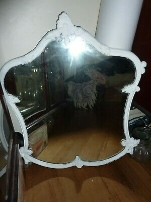 Vintage large mirror shabby chic style
