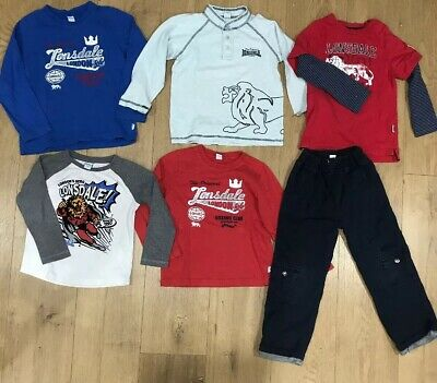 5 x Lonsdale Top & Lined Pants , Sz 4, VGUC