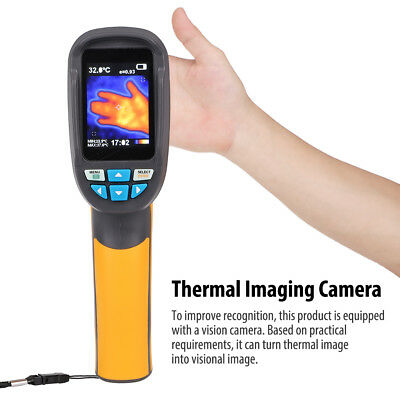 HT-02D Hand IR Thermal Imaging Camera Infrared Thermometer Imager 32X32 1024 TPS
