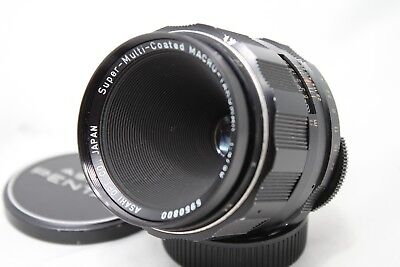 Asahi PENTAX smc Macro-Takumar 50mm 1: 4.0 Lens M42 *As Is* #V018d