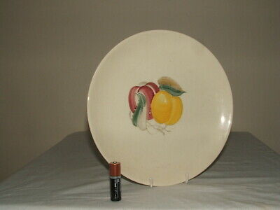 Susie Cooper  Art Deco Handpainted Fruit Dinner Plate Truly Stunning