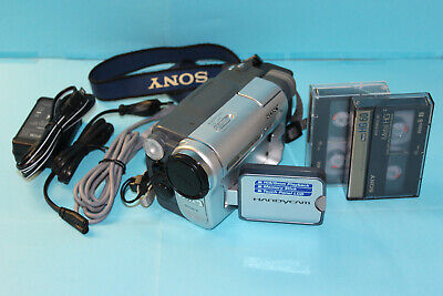 SONY DCR-TRV460E PAL Digital8/Hi8/Video 8mm Handycam FULLY WORKING+tapes+charger