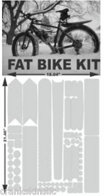 Crankskins   3 Piece 8-mil Multipatch Kit Frame Protection for ROAD /& MTBS