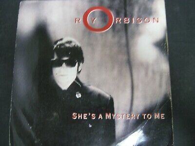 """Vinyl Record 7"""" Single ROY ORBISON SHE'S A MYSTERY TO ME (B)"""