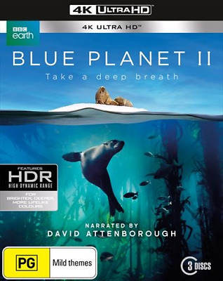 BLUE PLANET II 2 : NEW 4K Ultra HD UHD Blu-Ray